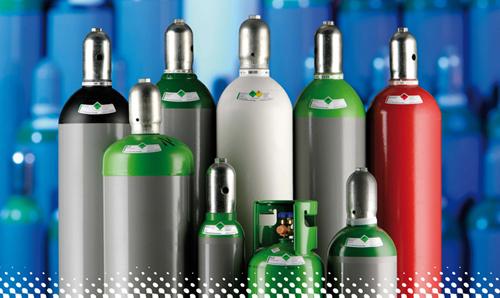 Tyczka Industrie-Gase